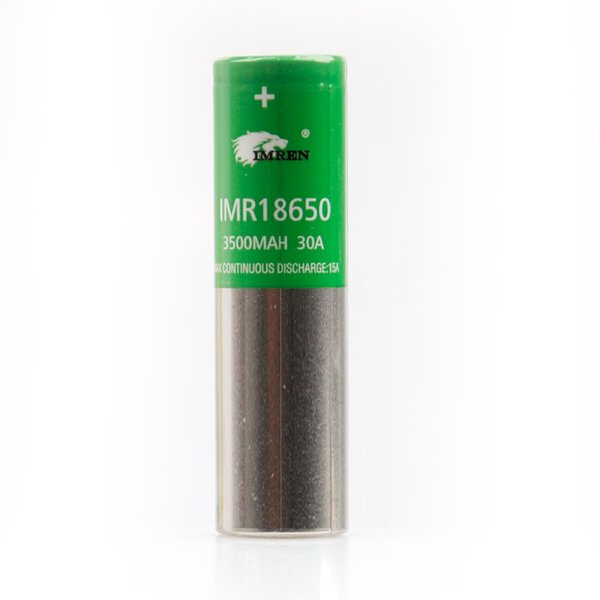 IMR 18650 3500MAH 30A Зеленый