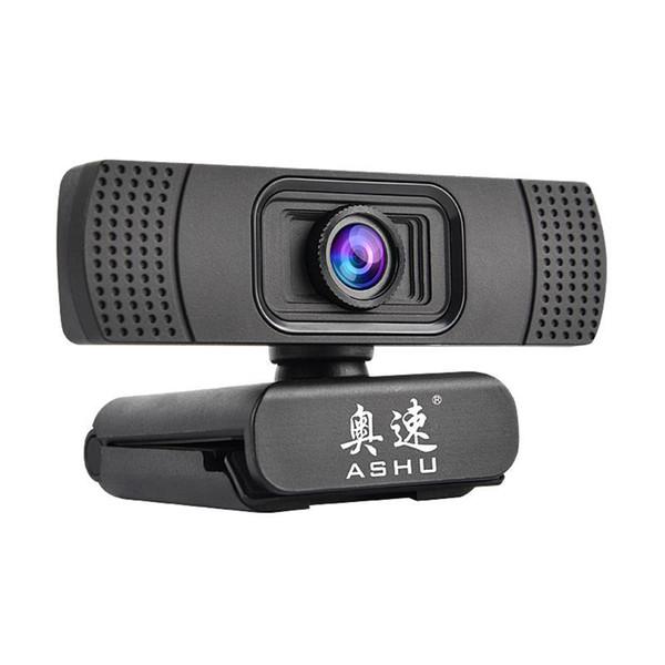 ASHU Webcam 1080P USB 2.0 Web Digital Camera with Microphone Clip-on Full HD 1920x1080P 2.0 Megapixel CMOS Camera Web Cam