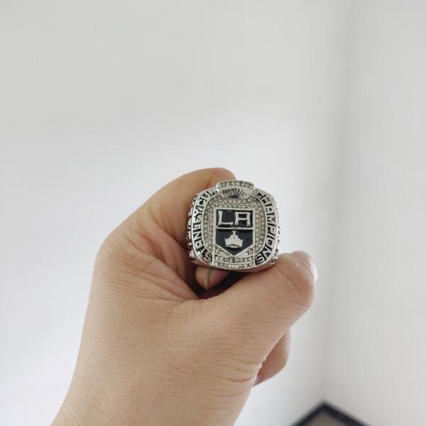 2019 atacado 2012 los angeles reis stanley copa do campeonato anel dos homens do ventilador de presente por atacado transporte da gota