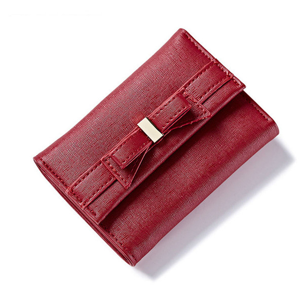 2019 Fashion Korean Style Short Wallets Women Lovely Purse Female Trifold Small Purse Ladies Clutch Wallet For Coin Credit Card