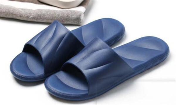 11050rtytw пляжные тапочки мужские плоские сандалии нескользящие тапочки для ванной комнаты Supr Emees черный красный летний дом обувь мужские тапочки