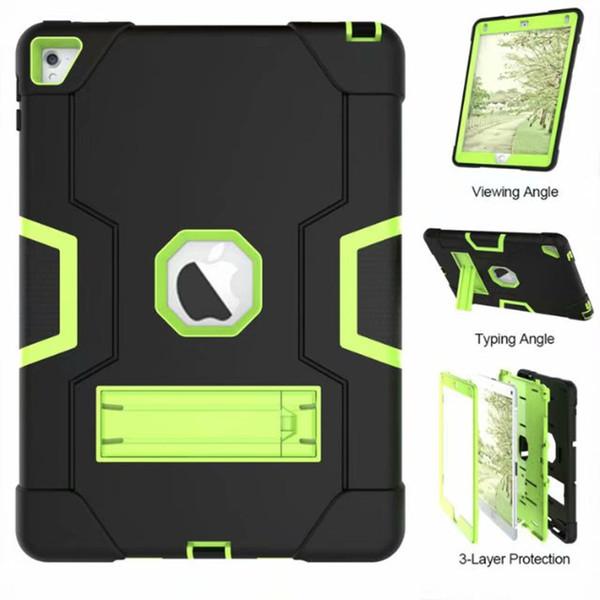 Armor Case For iPad2 iPad3 iPad4 Kids Safe Heavy Duty Silicone Hard Cover For Ipad 4 3 2 iPad 3 2 Tablet Case