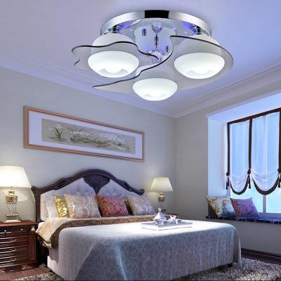 I bambini lampada moderna creative luna bambini illuminazione della stanza da letto ristorante Dolce luce di cristallo condotto assorbe la luce di cupola FG177