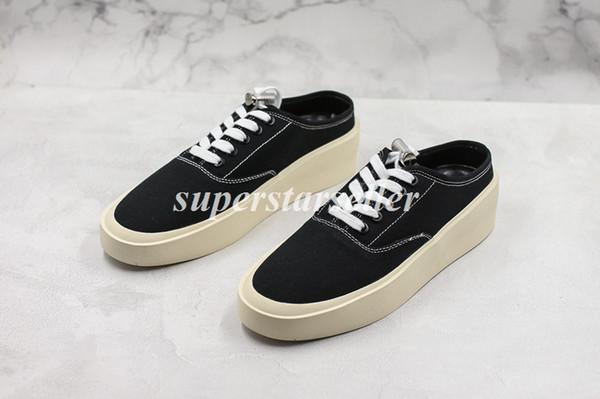 fear of god 101 backless sneaker black