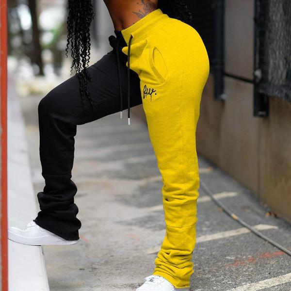 검은 색과 노란색