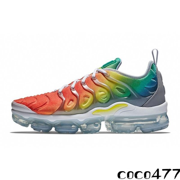 2021 Sunset Fades Work Blue TN Plus Men Running Shoes GRAPE Bright Crimson Hyper Rainbow Mens Volt Wolf Grey Tns Sports Sneakers Chaussures