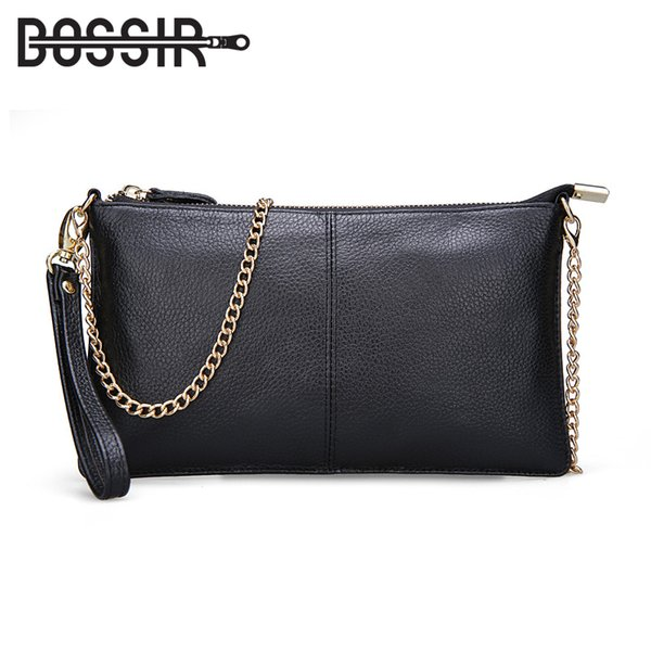 15 Color Genuine Leather Women's Bag Designer High Quality Clutch Fashion Women Leather Handbags Chain Shoulder Bags For Women Y19061301