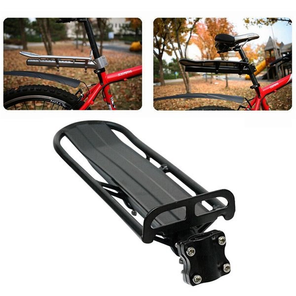 Adjustable Bike Cargo Rack Cycling Pannier Bicycle Luggage Carrier Racks Bicycle rear shelf equipment accessories 2019 Hot New #671889