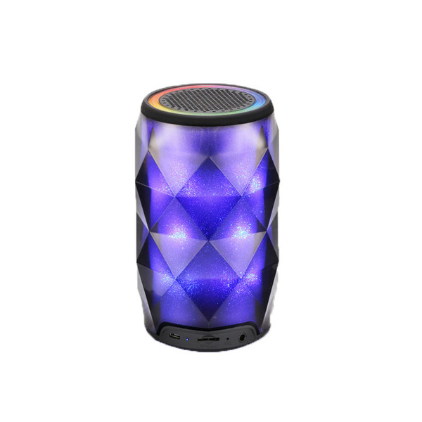 Night Light Bluetooth Speaker Portable Wireless Bluetooth Speaker Touch Control Color LED Themes Bedside Table Lamp