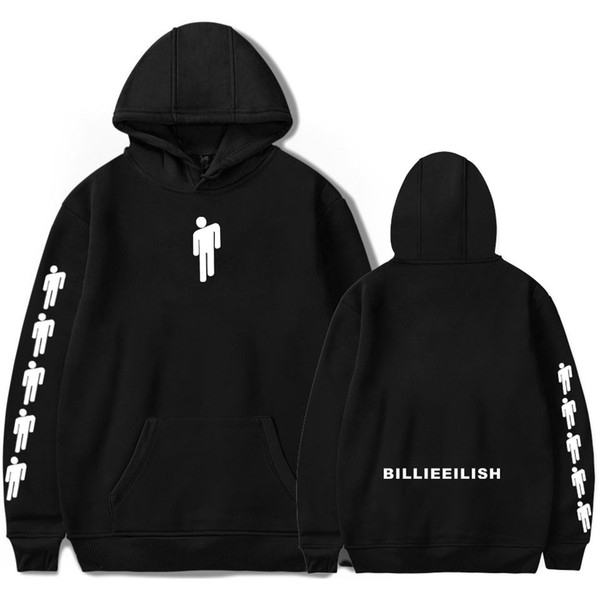 2019 Billie Eilish Print Hooded Women/Men popular Clothes 2019 Casual Hot Sale autumn Hoodies K-pops sweatshirt Plus Size 4XL SH190917