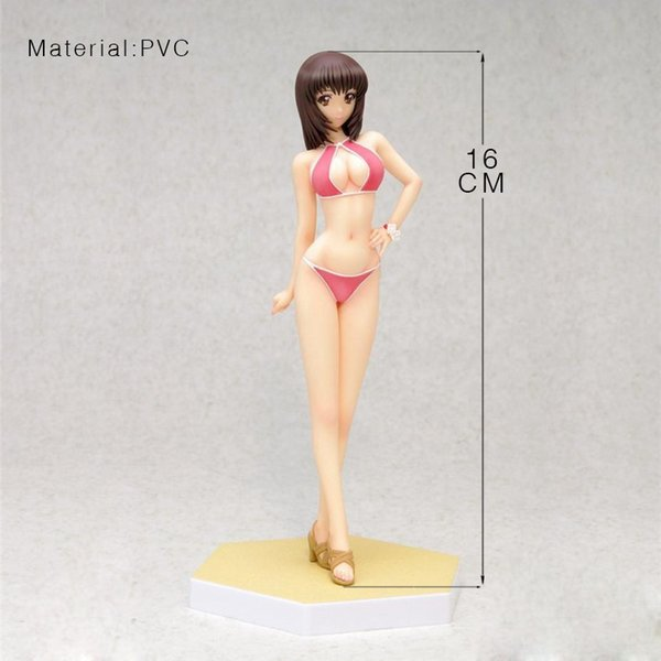 Asuka Sugo Swimsuit Japanese Anime Figures Action Toy Figures Model Collection Adult Doll Brand New
