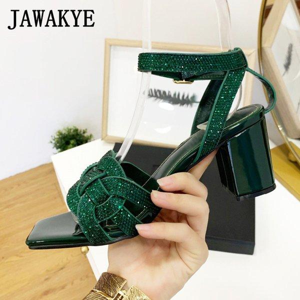 green rhinestones