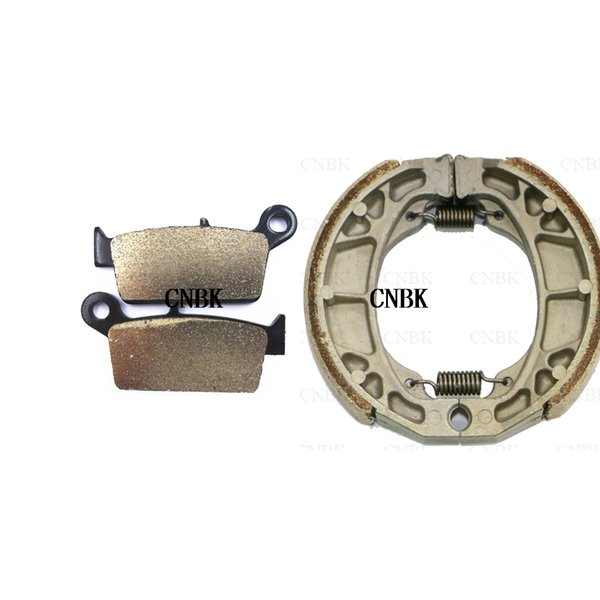 Rear Brake Shoe Drum for Yamaha XTZ K E 05-10 YBR ED 05-06 YFA1D Breeze 92-03 YFM Grizzly 04-14 98-00 YP 125 Majesty DX 02