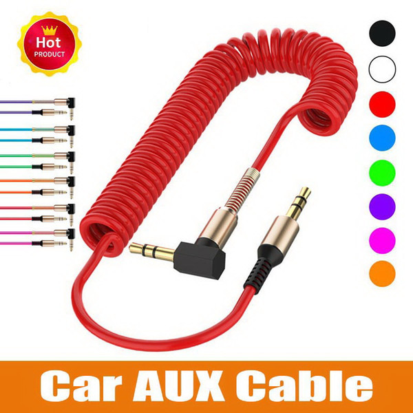 Stereo Audio Cable 3.5mm Male to Male Universal Aux Cord Auxiliary Cable for Car bluetooth speakers headphones Headset PC Laptop Speaker MP3