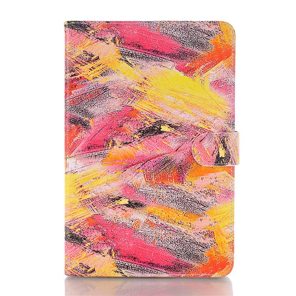 Colorful Leather for Ipad Air for Ipad Mini 4 Cover with Card Wallet Graffiti Art Case for Ipad pro Cover with Holder Bumper Protective Case