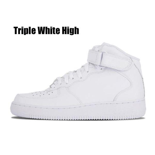 Triple blanc haute