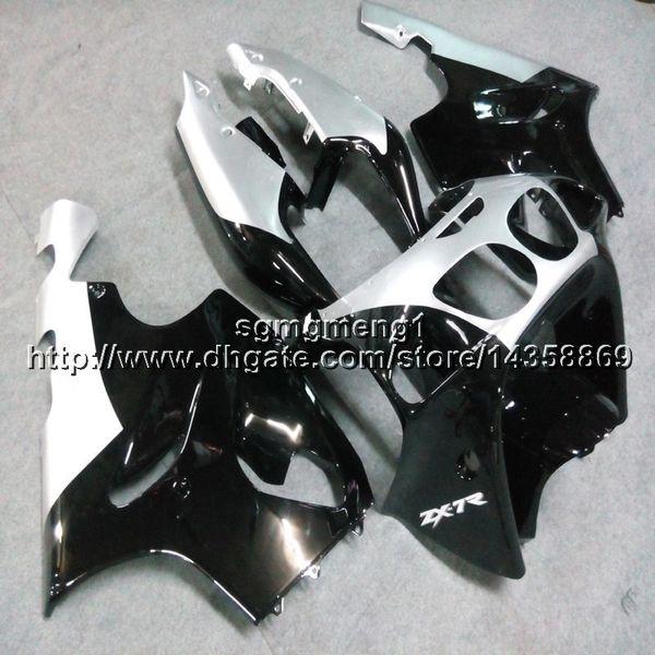 Capot de moto 23colors + Botls blanc noir pour Kawasaki ZX-7R 1996 1997 1998 1999 2000 2002 2002 2003 2003 Coque de carénage en ABS