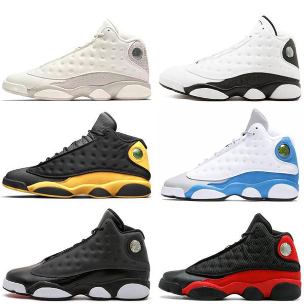 Nike Air Jordan 13 Оптовая Высокое Качество Новый 13 XIII Wine Red Velvet Наследница Мужчины Баскетбол Обувь Спортивные Кроссовки На Открытом