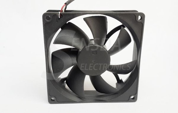"""92x92x25mm Case Fans 92mm 12V DC Industrial Exhaust Cooling Computers /"""""""