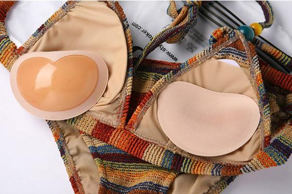 Compre D Trajes Pads Up Inserta Push Silicona Sexy Sujetador De Para E Invisible Baño Adhesivo Copa Tirantes Copas Sin Mujeres Espalda Extraíble k0On8wP
