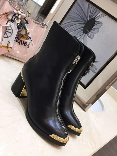 Estilo de moda mulheres negras Botas sapatilha bota botas de couro de camurça sola sapatos inverno frete grátis perfeito Motocicleta ankle boot jasmine11