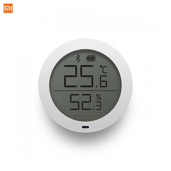 Xiaomi Mijia Bluetooth Temperature Humidity Monitor Sensor APP Control Built-in Sensor LCD Display Magnetic Stick Ultra-LowPower