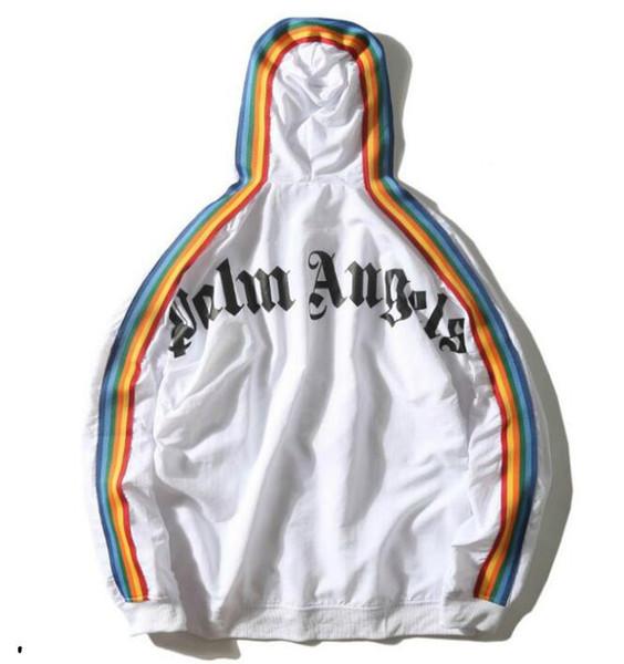 Harf Lüks Erkek Tasarımcı ceketler İlkbahar Sonbahar Erkek Giyim 2 Renkler Boyut S-XL İsteğe ile Mens Sportswear İçin Moda Marka Ceketler
