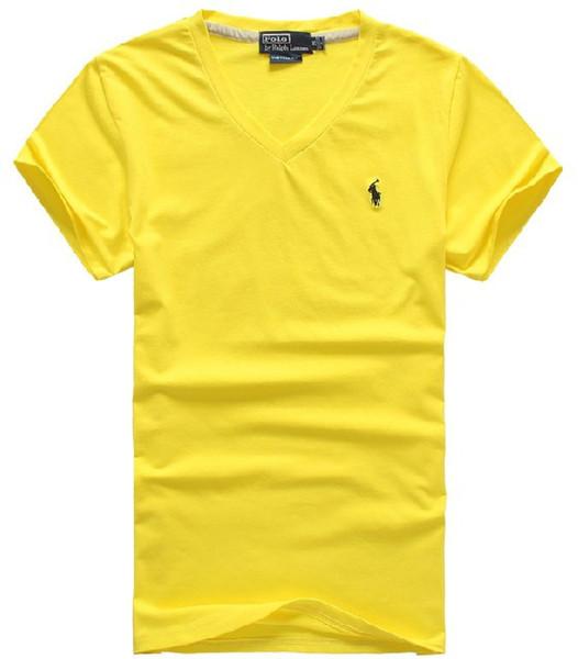 2019 quality 100% cotton T-shirt polo men ralph men's shirt business men's designer polo shirt embroidered lapel polo shirt Free shipping 10