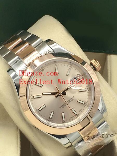 13 colori Vendita calda orologi di qualità 40 mm 126301 126334 126303 126333 126331 Asia 2813 orologi da polso da uomo meccanici automatici di Natale gif