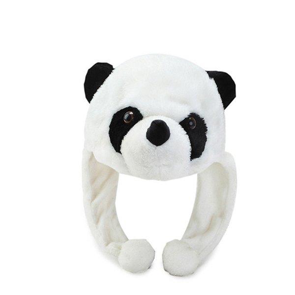 2019 Winter lovely panda plush hat girl friend gift cute earmuffs wholesale girls fashion headgear high quality