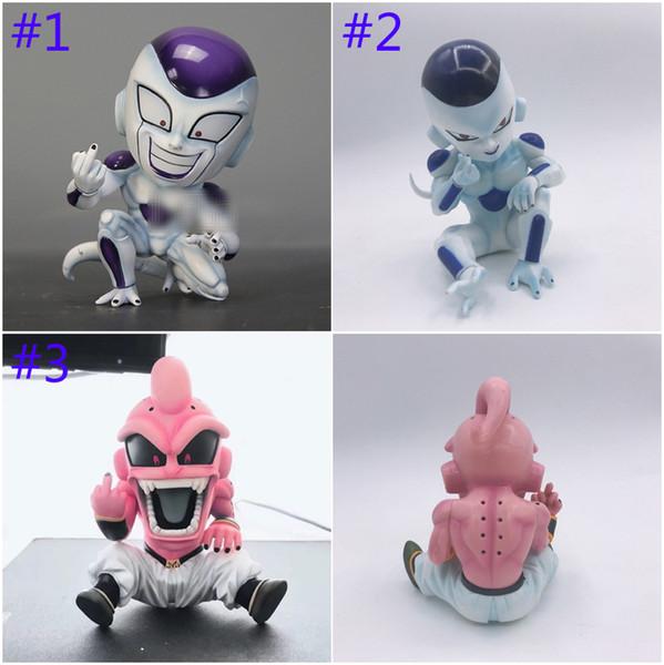 12 cm Dragon Ball Z Majin Majin Buu Majin Boo Şekil action figure PVC oyuncaklar koleksiyonu bebek anime karikatür modeli şekil Oyuncak B