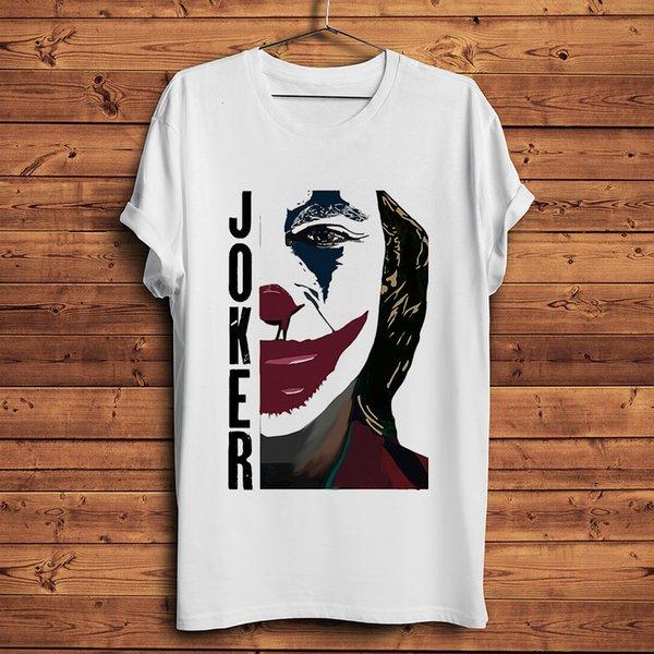 camisa nova t Joker 2019 Joaquin Phoenix t-shirt engraçado homens verão branco camiseta homme ocasional streetwear unisex