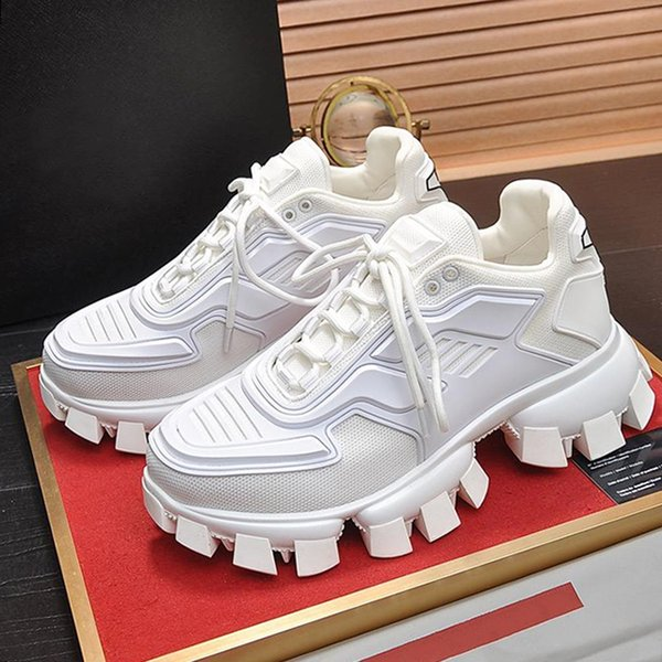 Herren Schuhe Mode Große Größen-Schuhe de Hombre Breath Fußbekleidungen Trainers Chaussures gießen hommes Cloudbust Donner Knit Sneaker Herrenschuhe