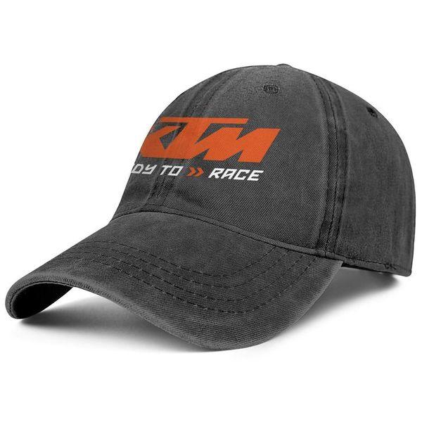 91b2891c KTM Racing Motorcycle logo black mens and womens Denim Cap trucker cap  baseball design designer vintage