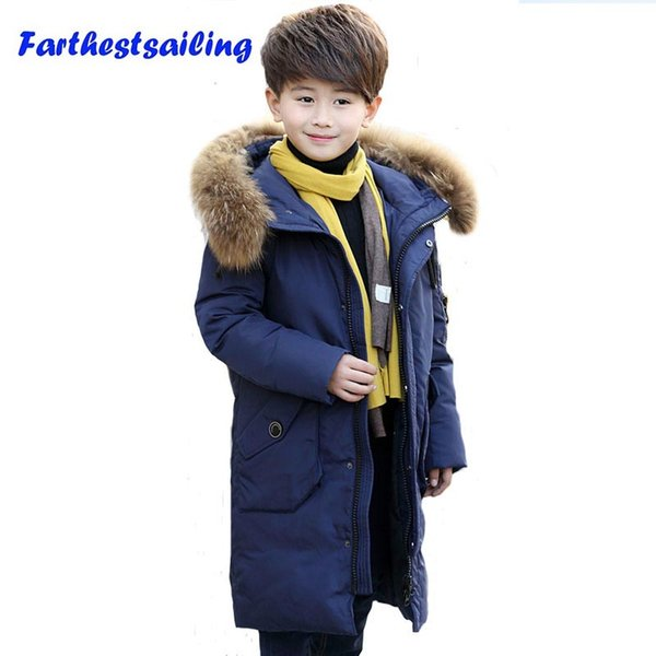 Jacket For Boy Children Down Jacket Kids Snow Clothes Teenage Winter Parka Duck Down Coat Children Clothing Boys Outerwear
