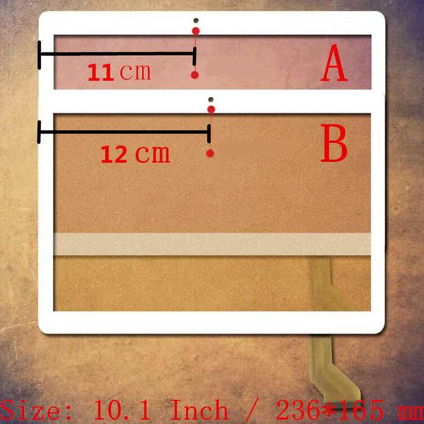 10.1 Pouces pour Teclast 98 Octa Core Double 4G MTK6753 M1E4 tablet pc capacitif écran tactile numériseur de verre panneau Livraison gratuite