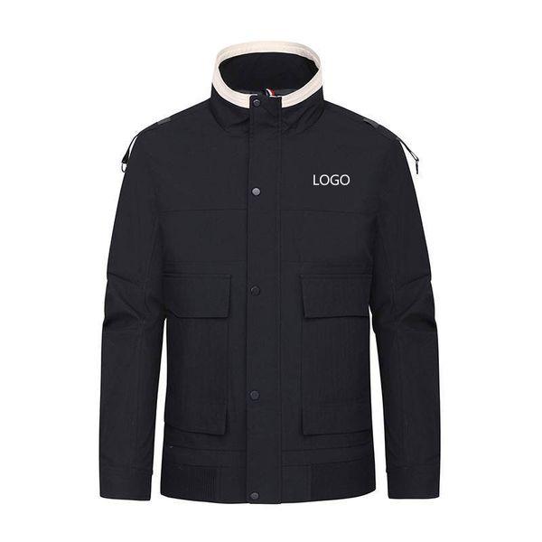 Plus size with logo Mens Jacket New Men Casual Designer Jackets Winter Autumn Windrunner Coat Sports Windbreaker Coats Clothing high quality