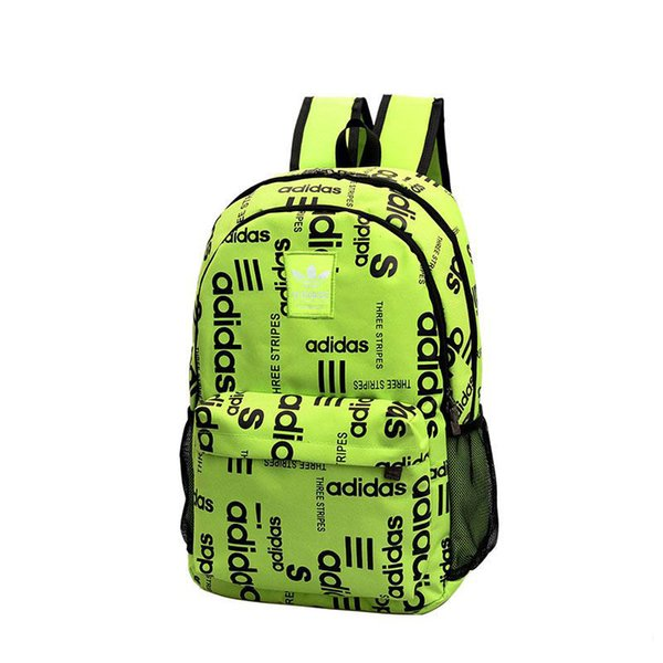 Mochila de moda 19ss Mochila escolar bolsas al aire libre Unisex Bolsas de lona de alta calidad mochilas Mochilas de lona SS19 carta Bolsa de viaje 48 * 32 * 45CM 1M