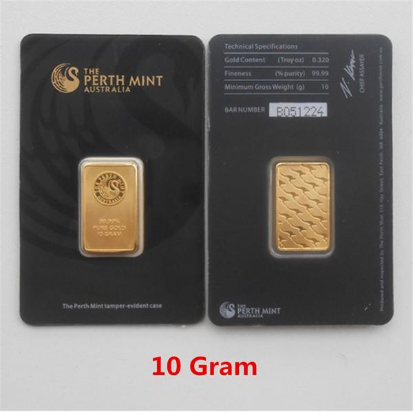 10 Gram Black Gold Bar