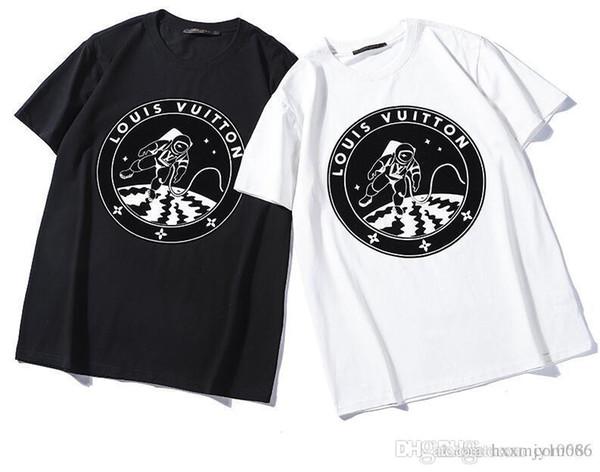 2019 New Tide Brand Full Body Short Sleeve Lovers T-Shirt Student Classic Class Breathable Men Women Outdoor Streetwear T-shirt