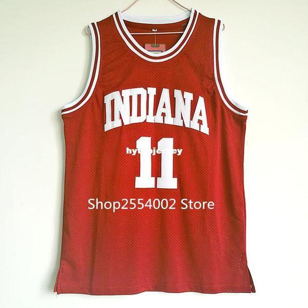 # 11 Isiah Thomas Hoosiers maillots de basket pour collégiens isaiah thomas XS-XXL gilet maillots NCAA