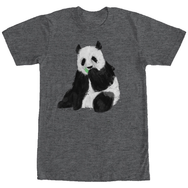 Panda Bear Mens Graphic T Shirt Style Round Style tshirt Tees Custom Jersey t shirt