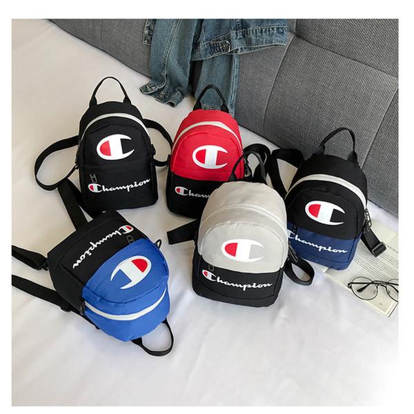 Unisex Champions Letter Zaini stampati Sport all'aria aperta multifunzione Crossbody Shoulder Shopping Bag Borse a vita Zaino nuovo C3194
