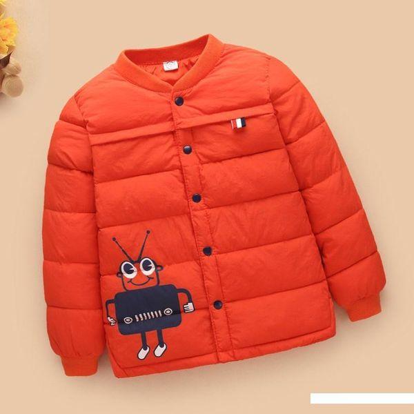 Off Season Warm Kinder unten Jacken-Baumwolle-gepolsterte Kleidung CHILDREN'S Padded? Jacke JUNGE Mädchen Baby Innere Trage Kinder Cotton O