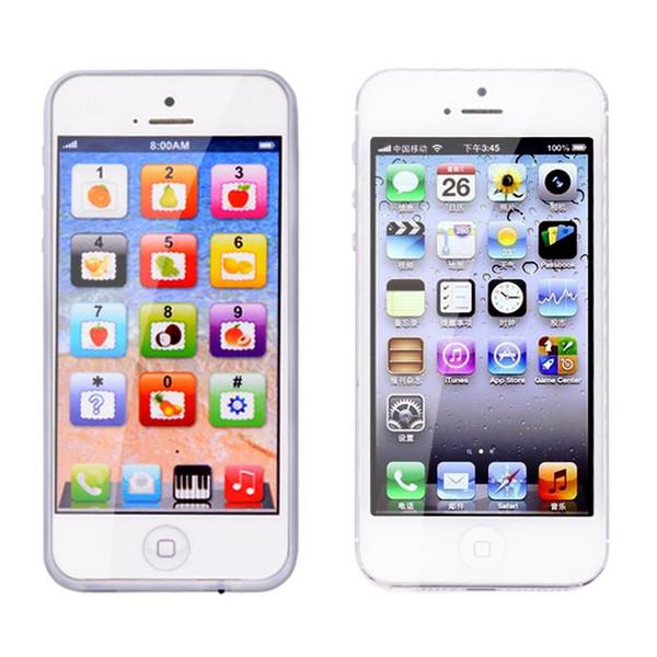 Y-TELEFON Eğitici oyuncaklar Cep Telefonu ile LED Bebek Çocuk Eearly Eğitici telefon İngilizce Öğrenme Cep Telefonu Chrismtas Xmas Cadılar Bayramı Hediyeler