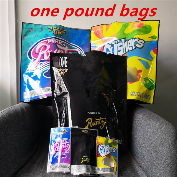 best selling COOKIES California 1 Pound PINK+Runtz White Gushers Mylar Childproof Bags Packaging Connected Cookies Bag size one pound Bags DHL Free