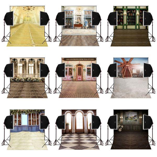 custom 5X7FT wedding luxury house decor vinyl photography backdrop photo background digital music studio prop comunion decoracion for party