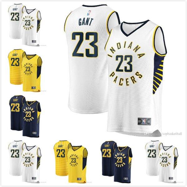 Basketball Hommes Maillots IndianaPacers JaKeenan # Gant 23 2019-20saison NBA Jerseys IconAssociationStatement Édition
