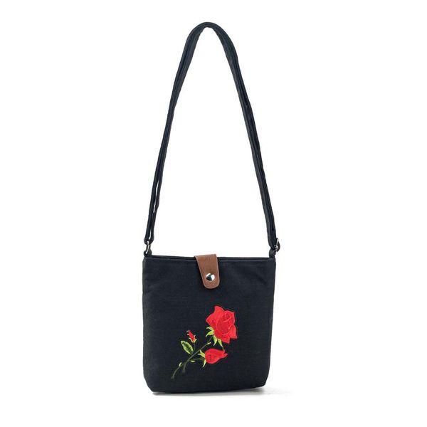 Cheap Fashion OCARDIAN Messenger bag women's crossbody bags Embroidery Shoulder handbags Postman Package Handbag Drop shipping