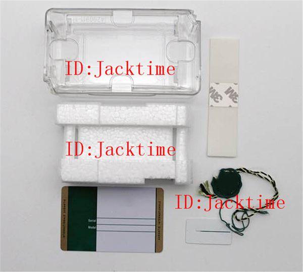Top OME Modello di stampa personalizzato Numero di serie sulla scheda di garanzia Versione personalizzata Scatola di plastica di alta qualità per orologi Rolex Regali economici